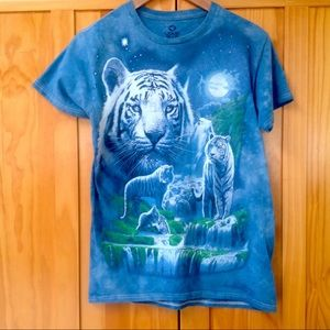 Liquid Blue | Tiger Graphic Tee
